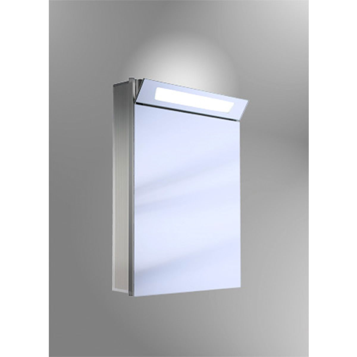 Schneider Capeline 1 Door Illuminated Mirror Cabinet : UK Bathrooms