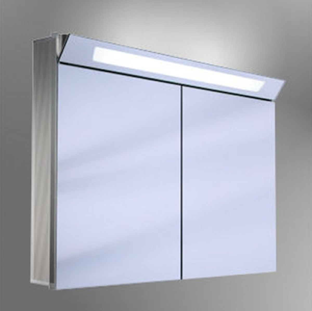 Schneider Capeline Illuminated Bathroom Mirror Cabinet ...