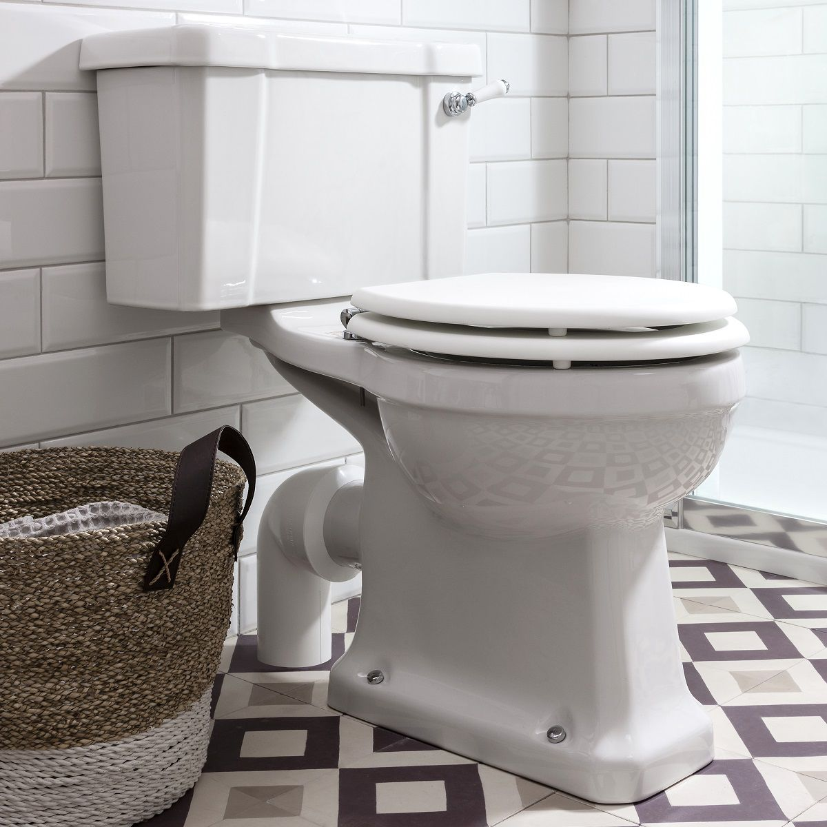 Burlington Close Coupled Toilet
