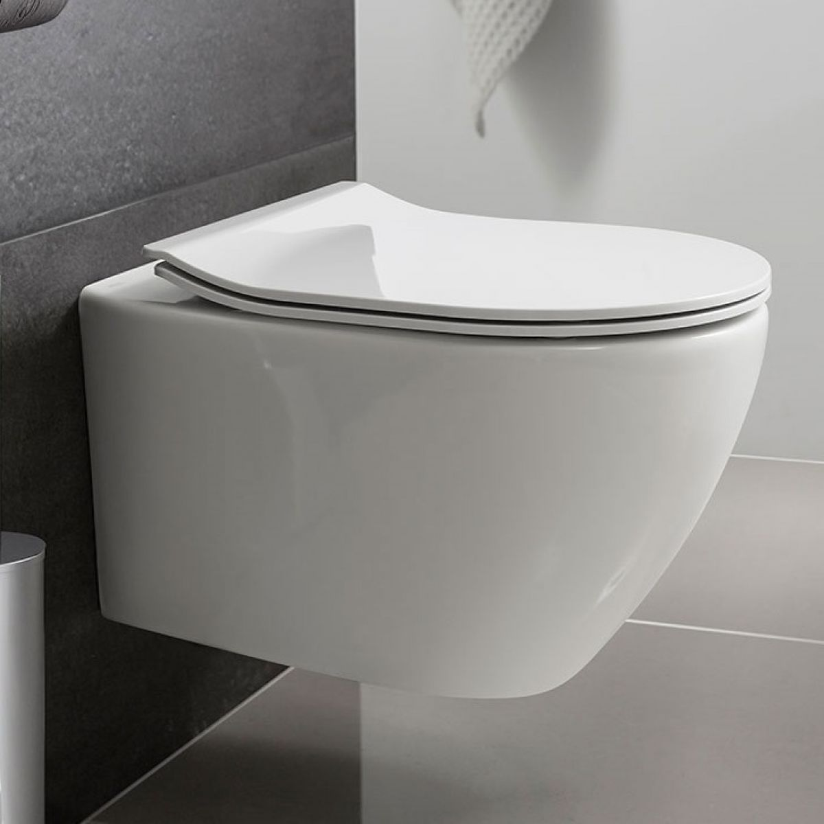 Crosswater Svelte Wall Hung Wc Se6006cw Uk Bathrooms
