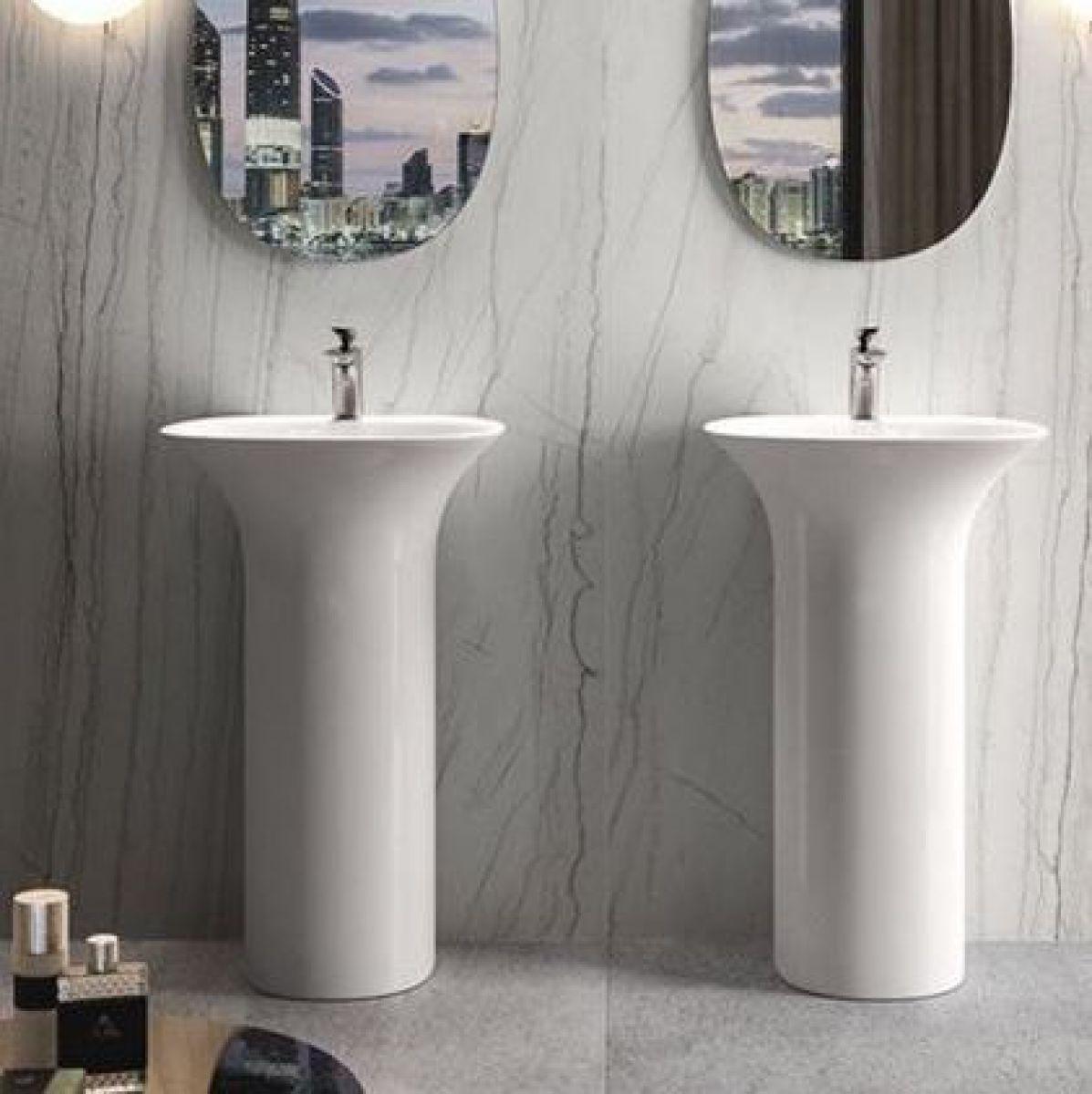 Free Standing Bathroom Sinks Shefalitayal