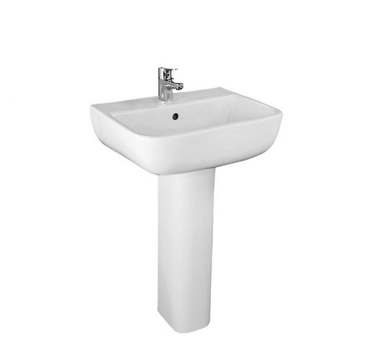 Rak series 600 bathroom basin 520mm uk bathrooms for Bathroom basin
