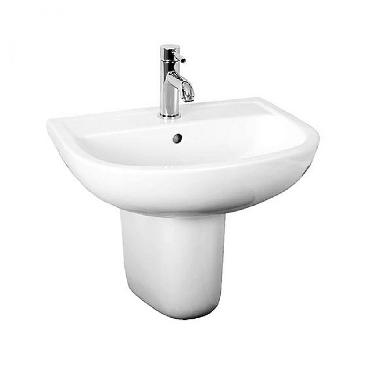 Small Wash Basin Price : RAK Compact Wash Basin 460mm : UK Bathrooms