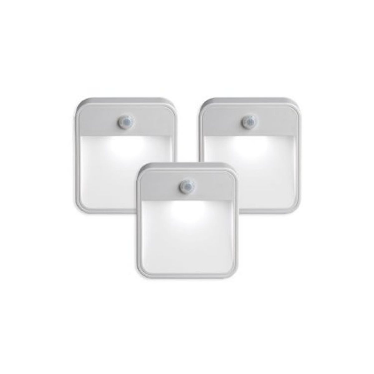 Bathroom Lighting Motion Sensor: Unique Lighting Motion Sensor LED Light (3 Pack) : UK