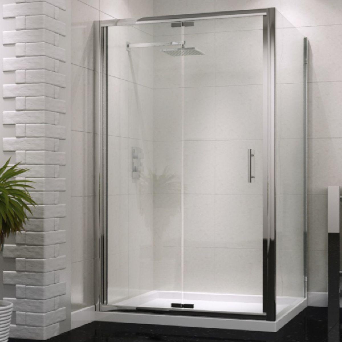 UK Bathrooms Essentials Bi-Fold Shower Door