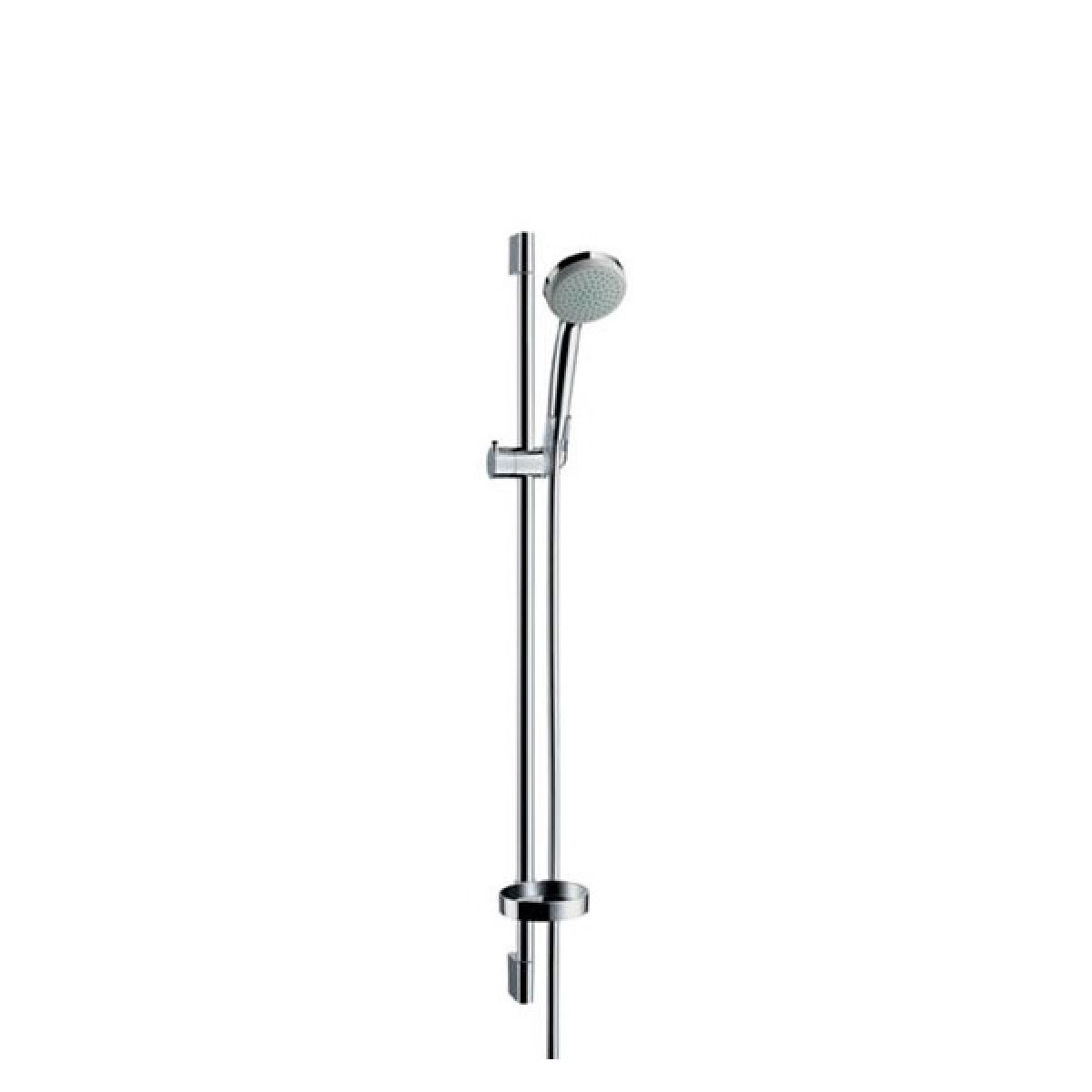 hansgrohe croma 100 1jet unica c set uk bathrooms. Black Bedroom Furniture Sets. Home Design Ideas