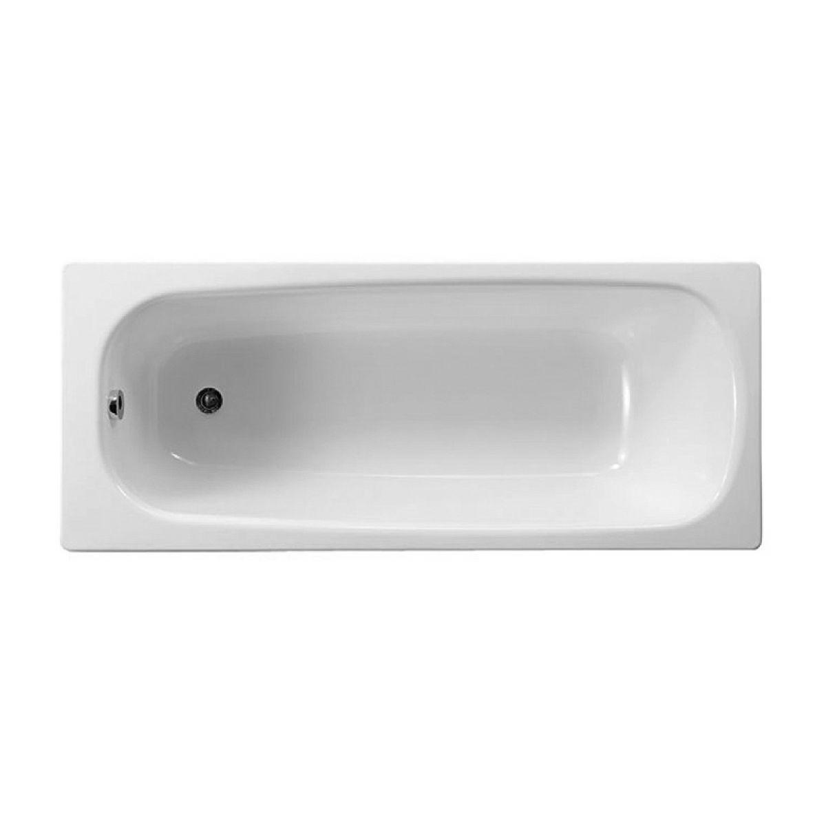 Roca contesa eco steel bath 1700 x 700mm uk bathrooms for Bath 1200