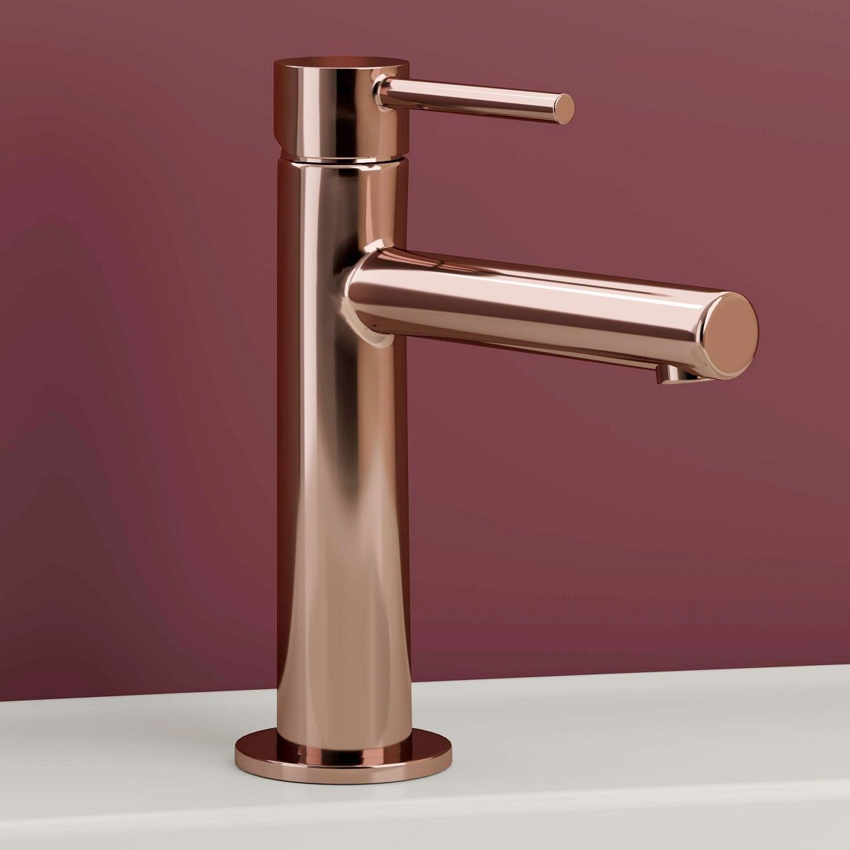Vitra Origin Copper Basin Mixer Uk Bathrooms