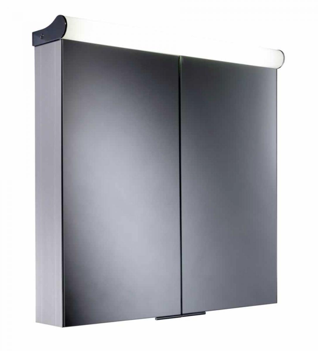 Aluminium Bathroom Cabinets Roper Rhodes Ascension Latitude Double Door Illuminated Cabinet