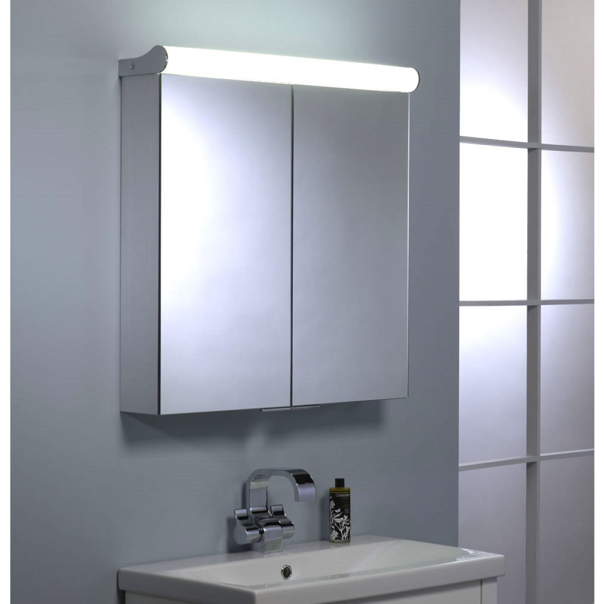 roper rhodes ascension latitude double door illuminated cabinet uk bathrooms