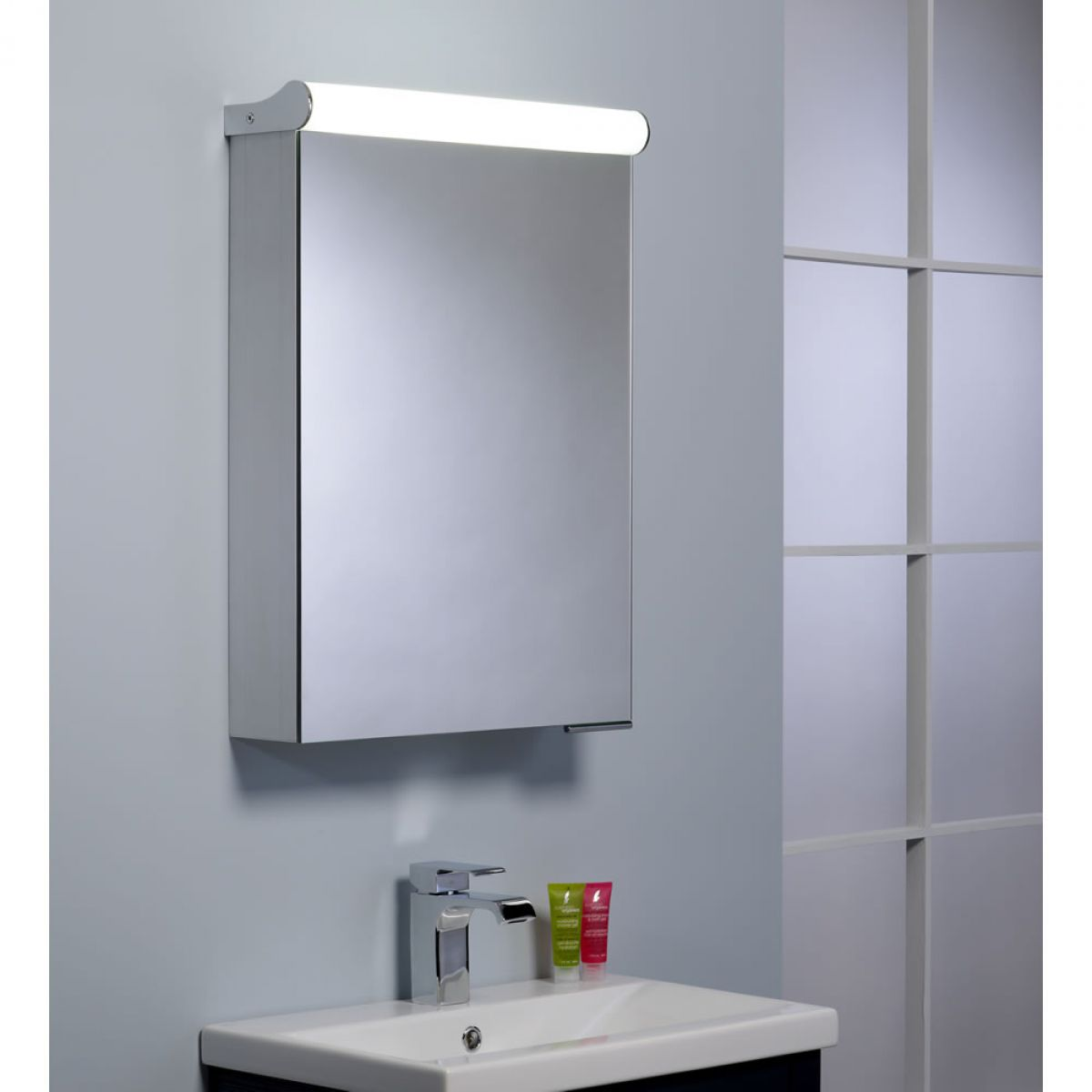 Bathroom Cabinet With Shaver Point Roper Rhodes Ascension Elevate Single Door Illuminated Cabinet
