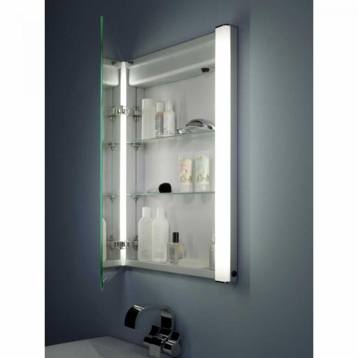 ascension illusion illuminated recessible cabinet uk bathrooms
