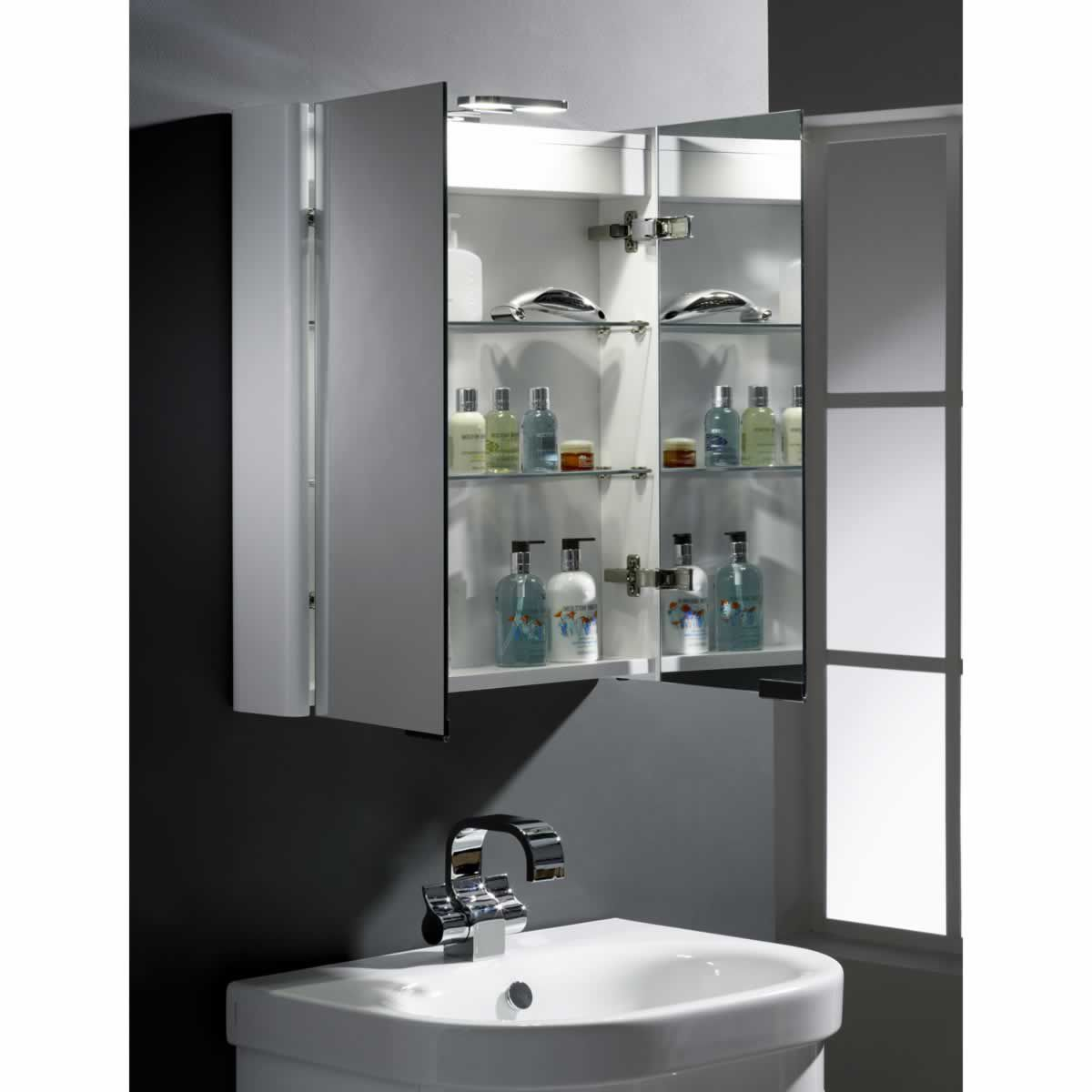 Roper Rhodes Entity 2 Door Mirror Cabinet : UK Bathrooms