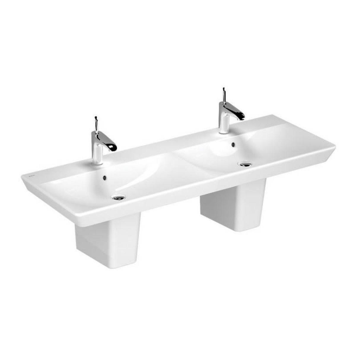 Double basins for bathrooms befon for - Double wash basin bathroom ...