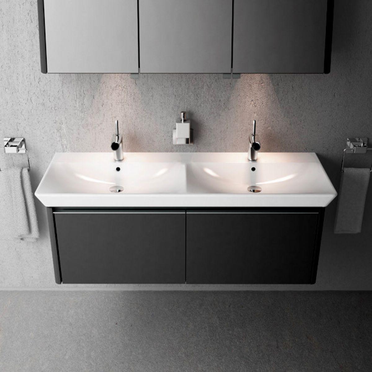 Vitra T4 Double Basin : UK Bathrooms