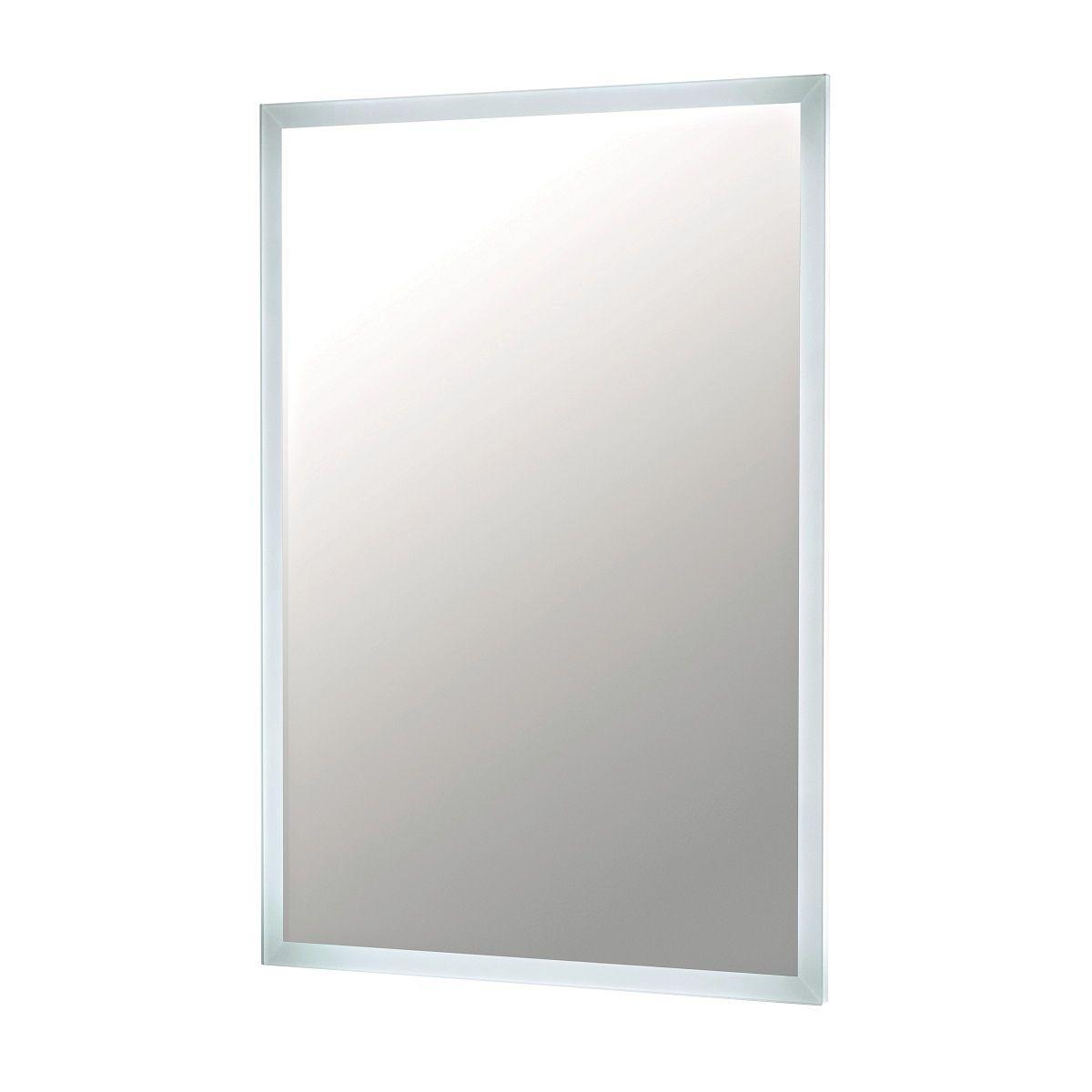 UK Bathrooms Essentials Kingstonia 500 x 700mm LED Mirror - UKBESSM0011