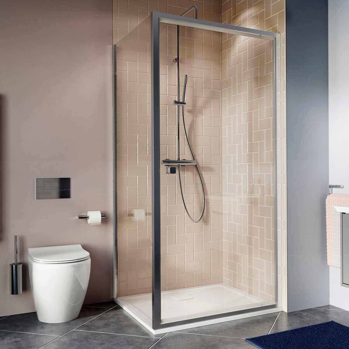 Crosswater Clear 6 Pivot Door Shower Enclosure