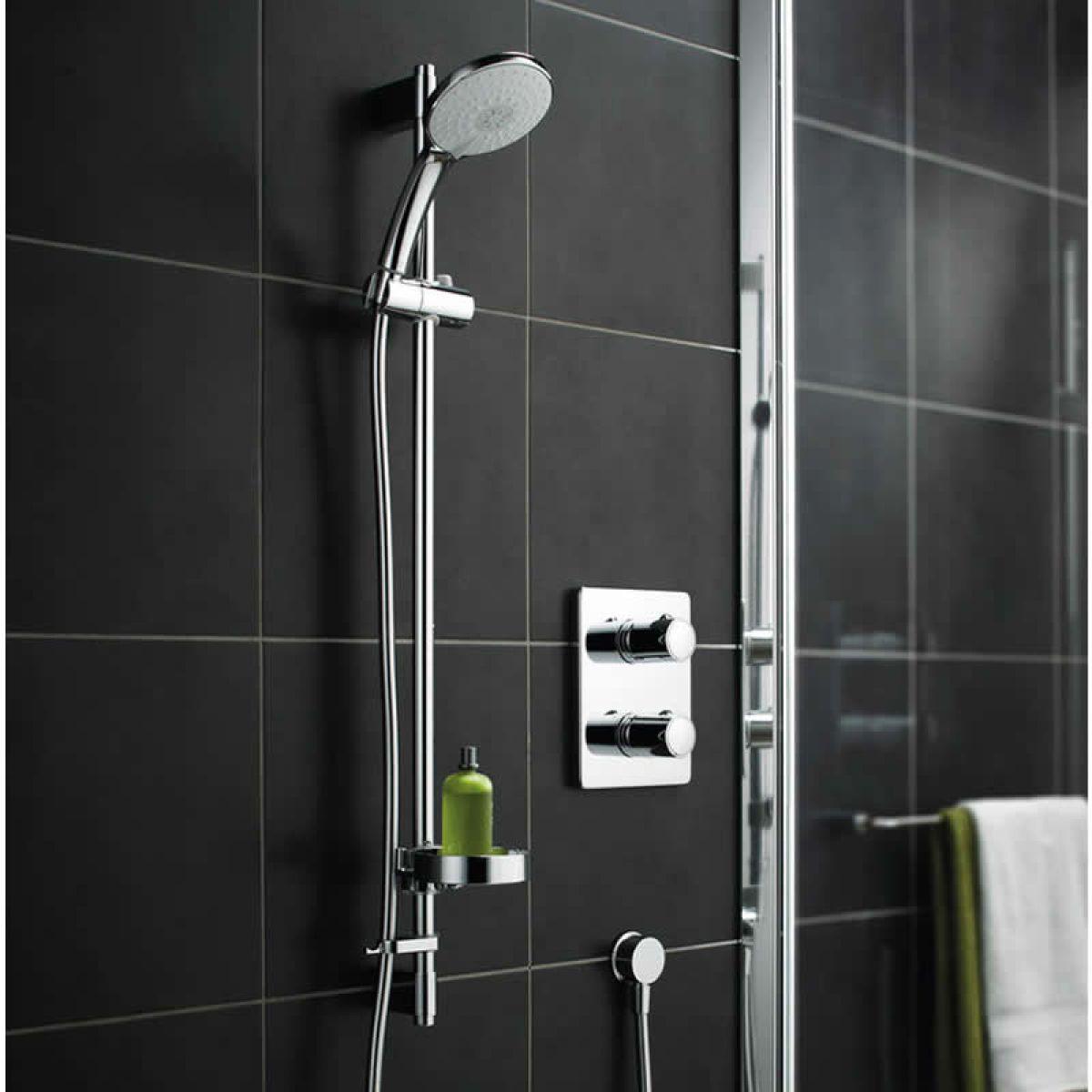 trevi tt concealed shower valve with rivage faceplate uk. Black Bedroom Furniture Sets. Home Design Ideas