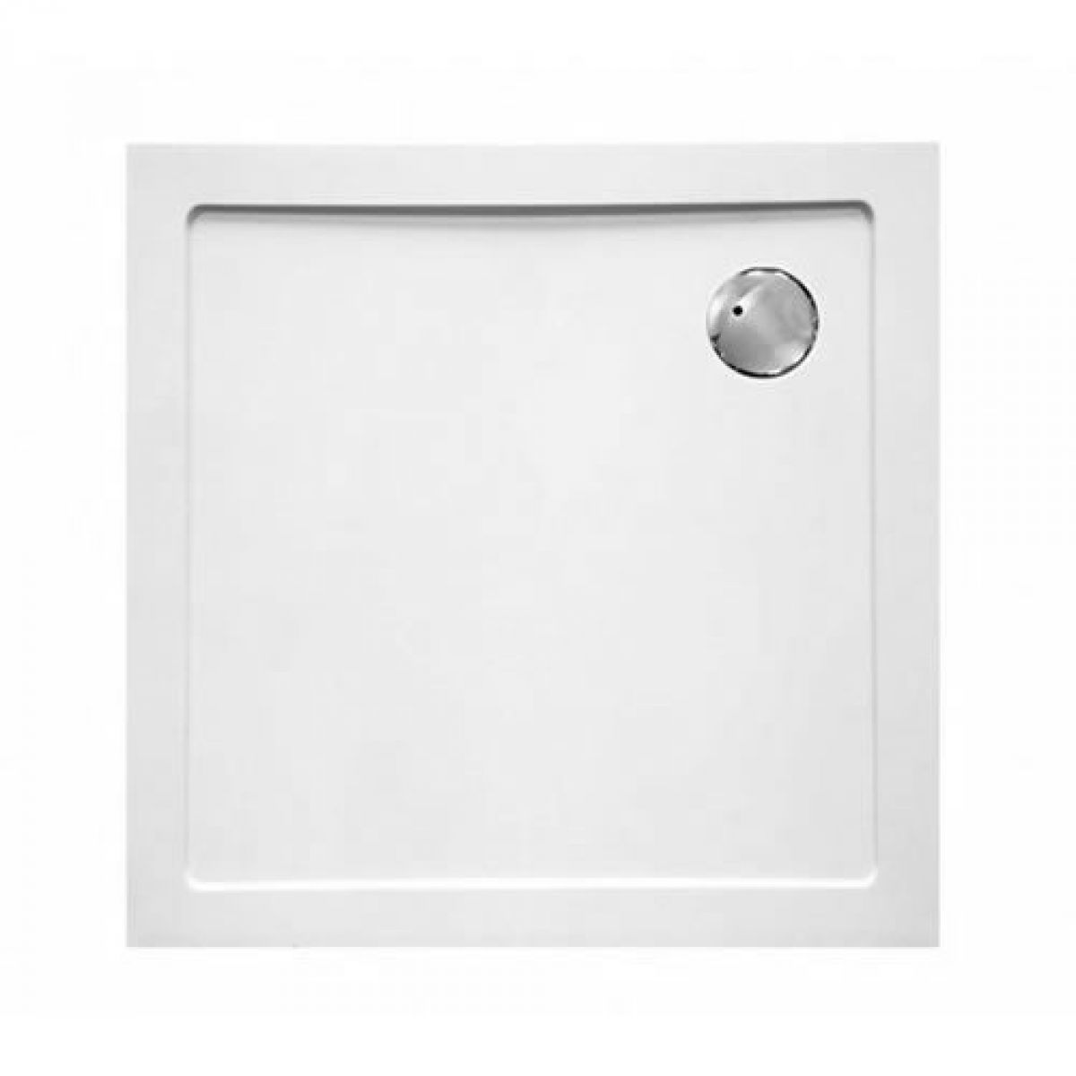 ClearGreen 35mm Low Profile Square Shower Tray : UK Bathrooms