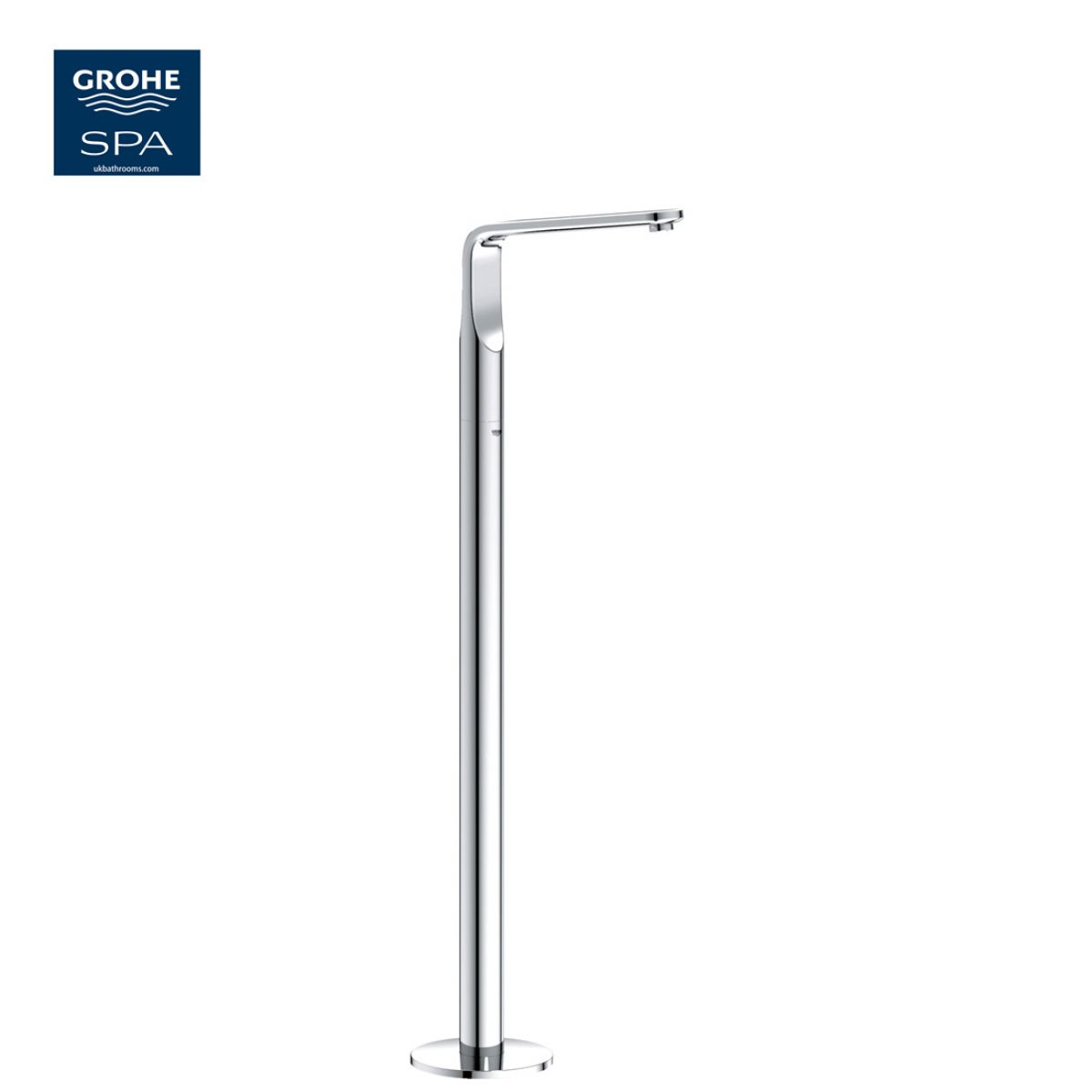 Grohe Veris Floor-mounted Bath Spout : UK Bathrooms