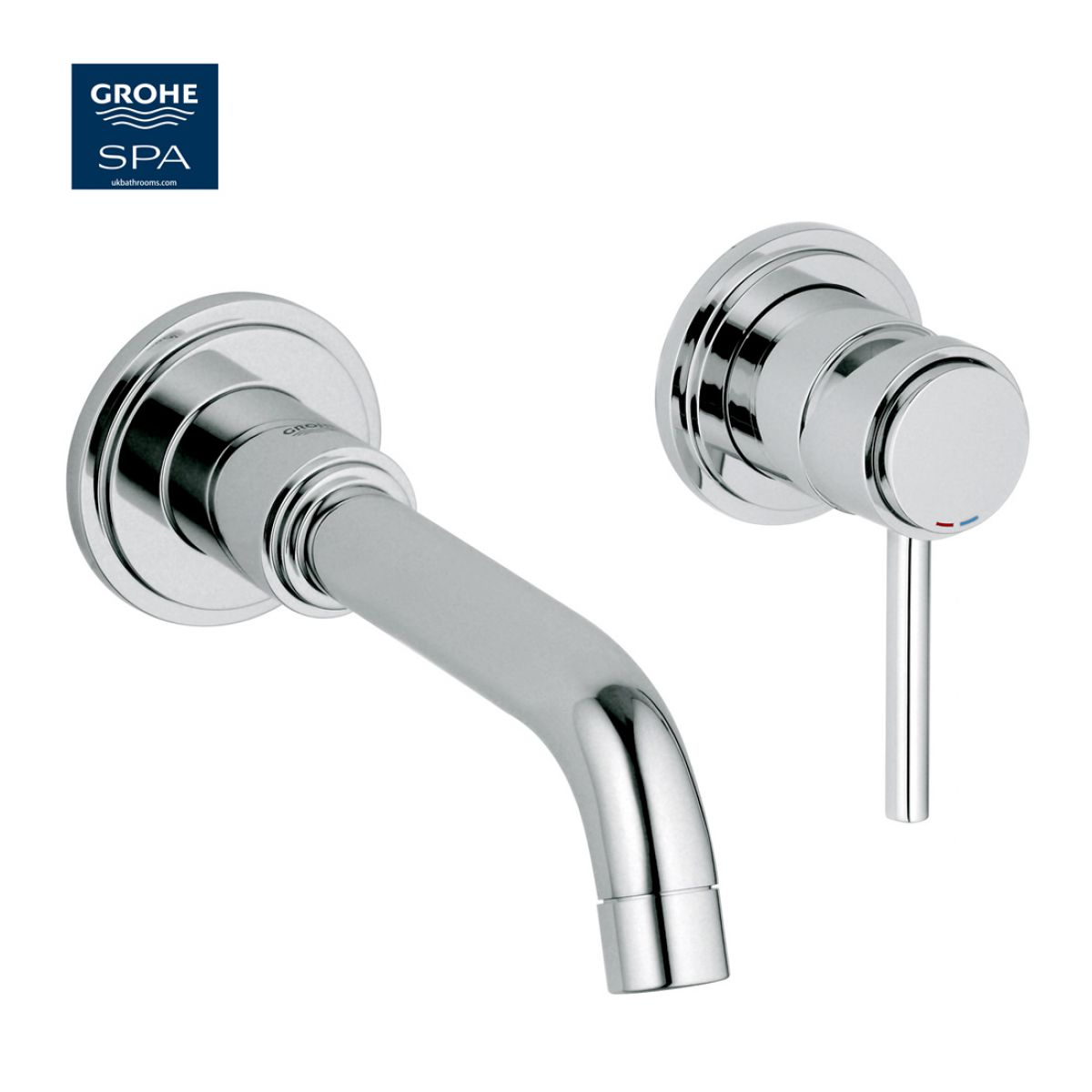 Grohe Atrio C Spout 2 Hole Wall Mounted Basin Mixer