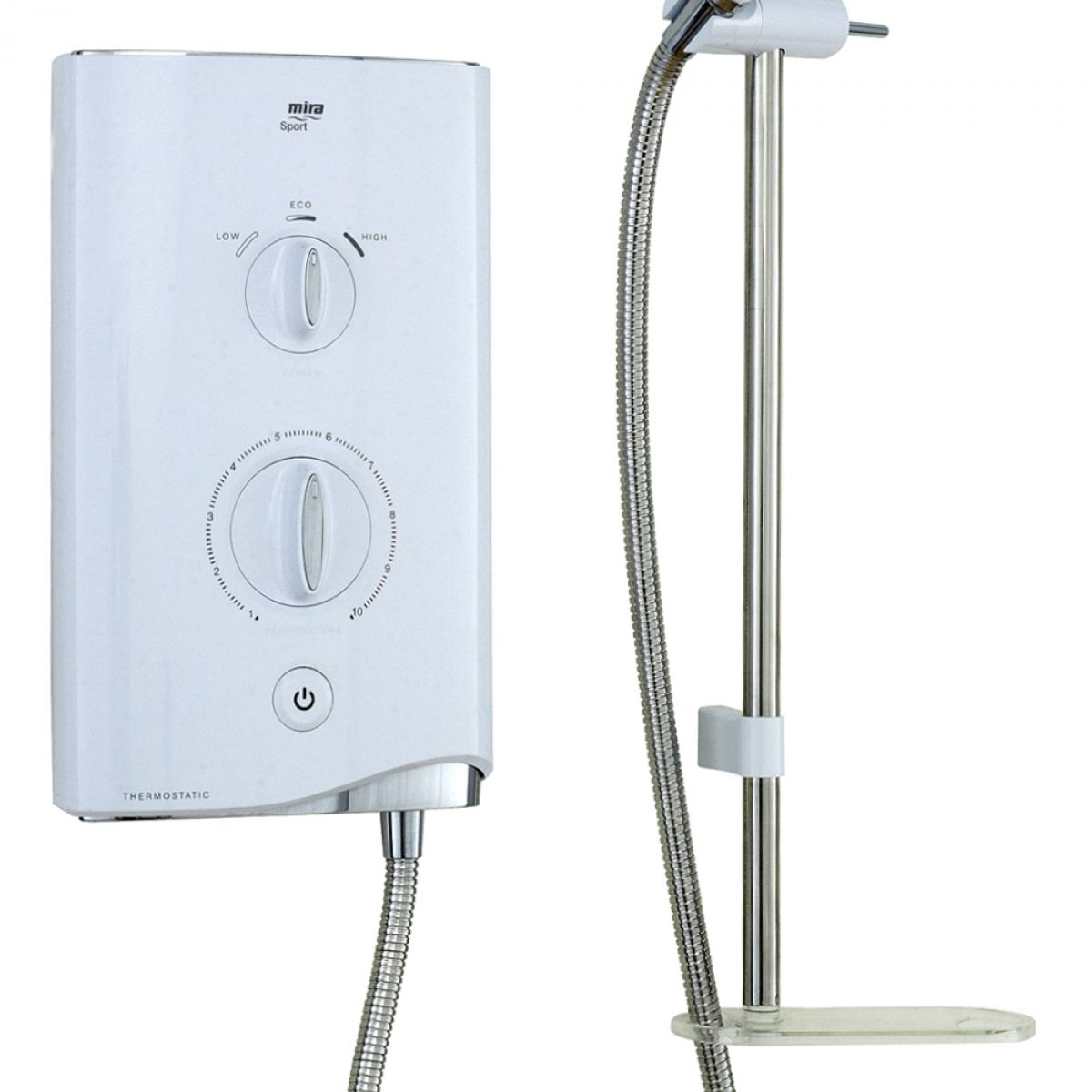 Kitchen Ideas White Cabinets Mira Sport Thermostatic Electric Shower Uk Bathrooms