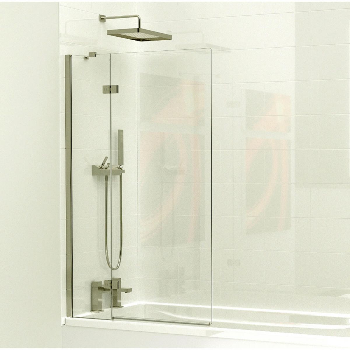Kudos 2 Panel Bath Screen Uk Bathrooms