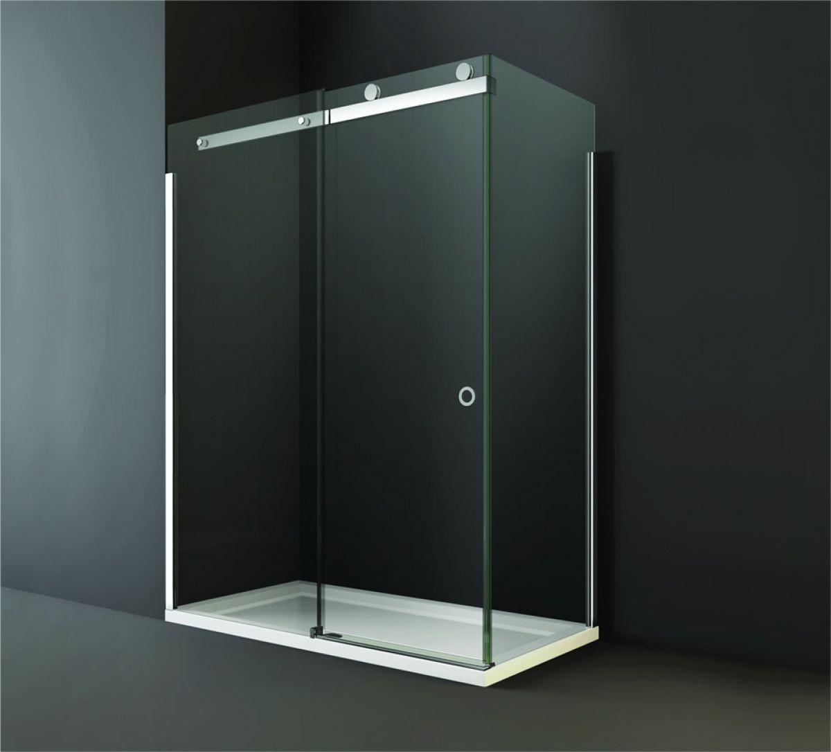 Merlyn Series 10 Sliding Shower Door Side Panel : UK Bathrooms