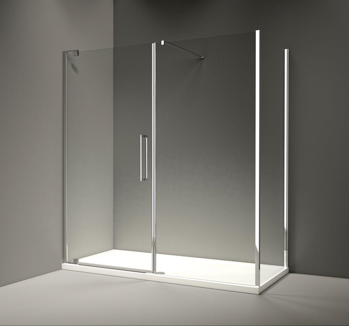 Merlyn series 10 pivot shower door and inline panel uk for 1200 pivot shower door