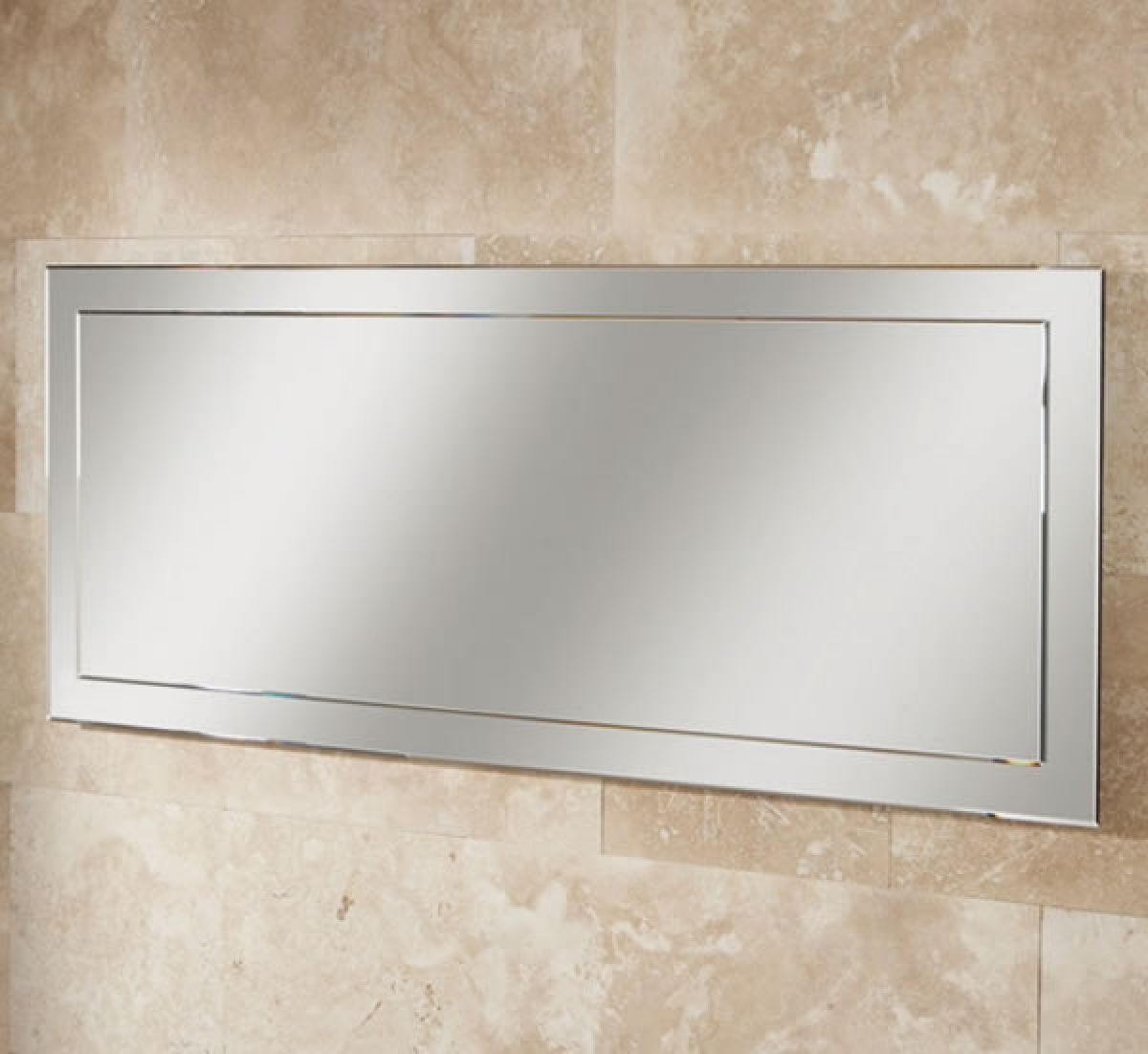 Hib isis large bathroom mirror uk bathrooms for Large mirrors for bathroom walls