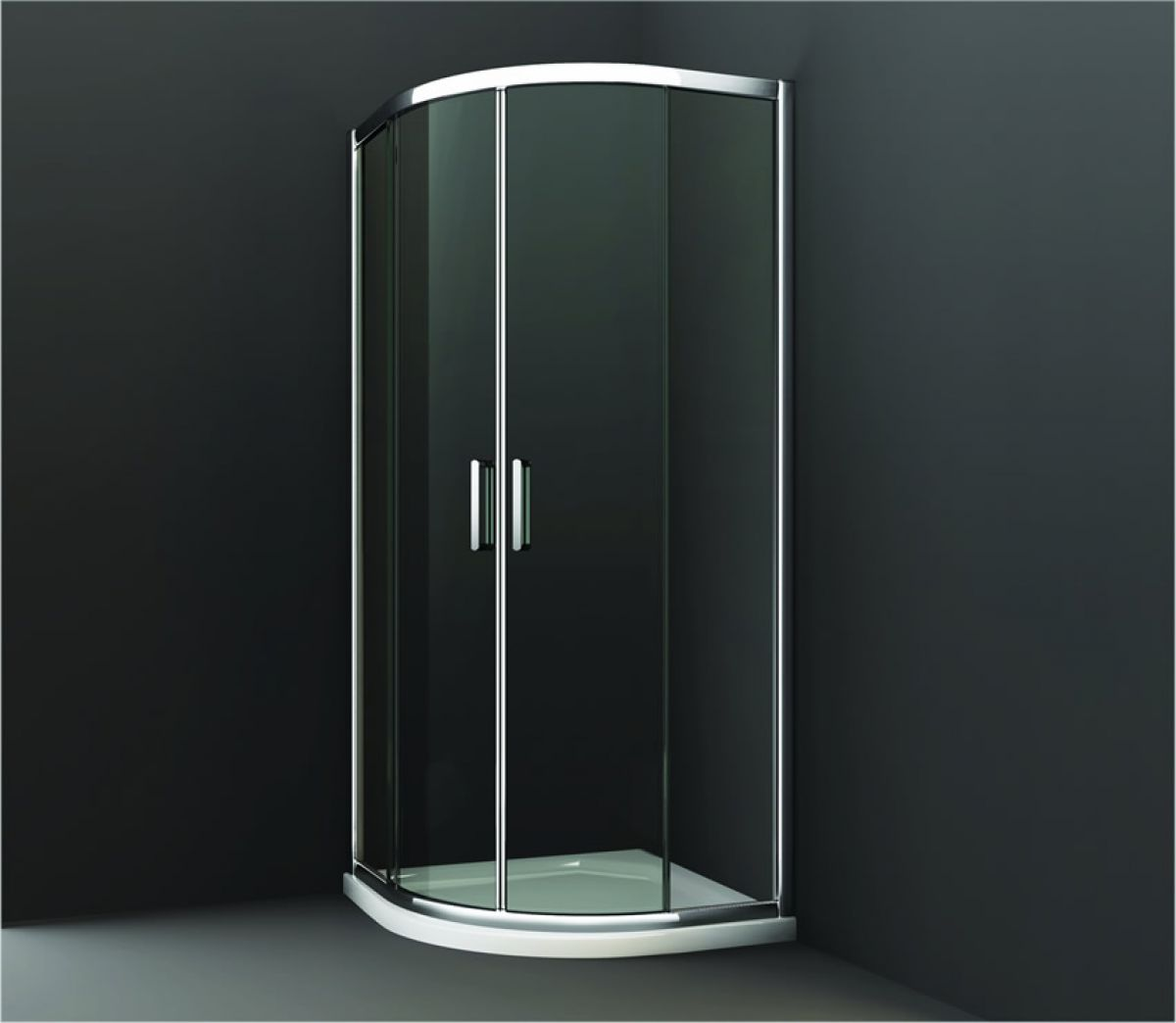 Merlyn series 8 twin door quadrant shower package uk for Door quadrant