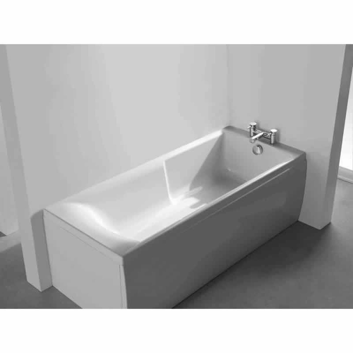 Roca almeria eco bath 1700 x 700mm uk bathrooms for Roca bathroom fittings