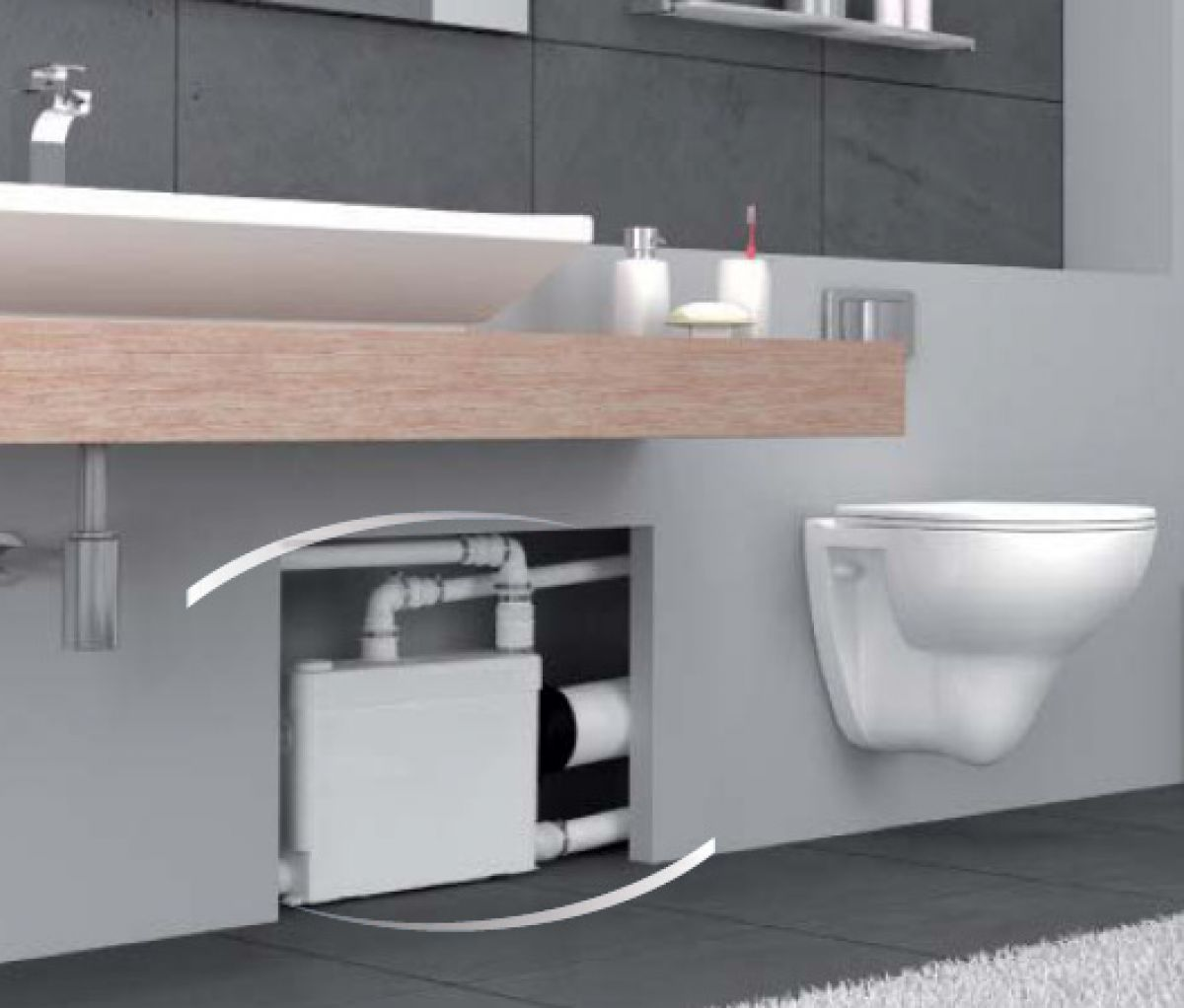 Sanipack Saniflo Macerator Uk Bathrooms