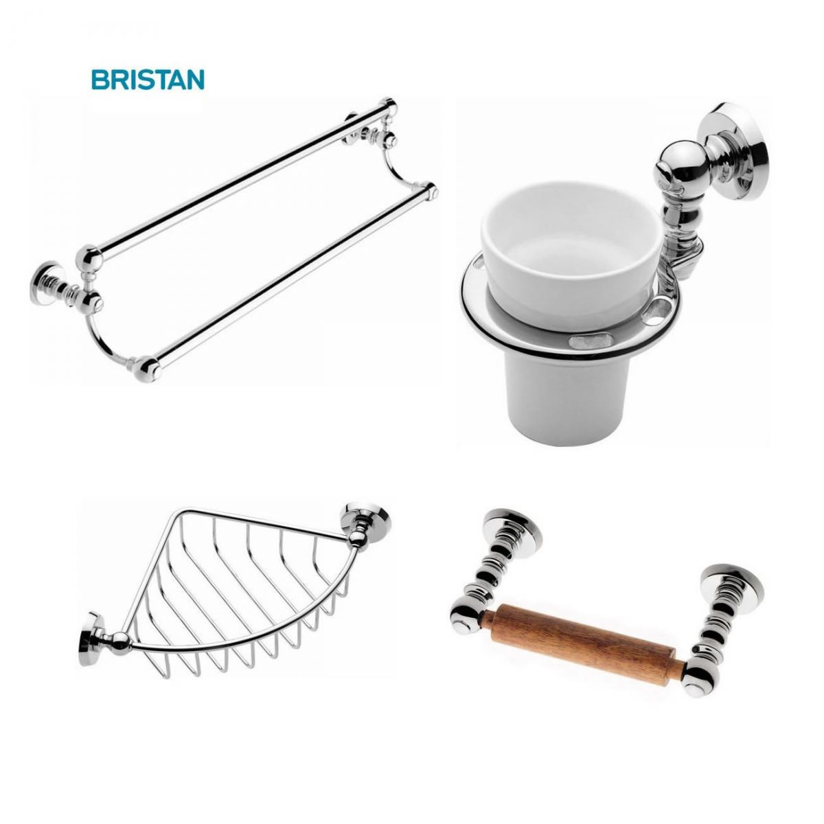 Bristan bathroom products accessories uk bathrooms Traditional bathroom accessories chrome