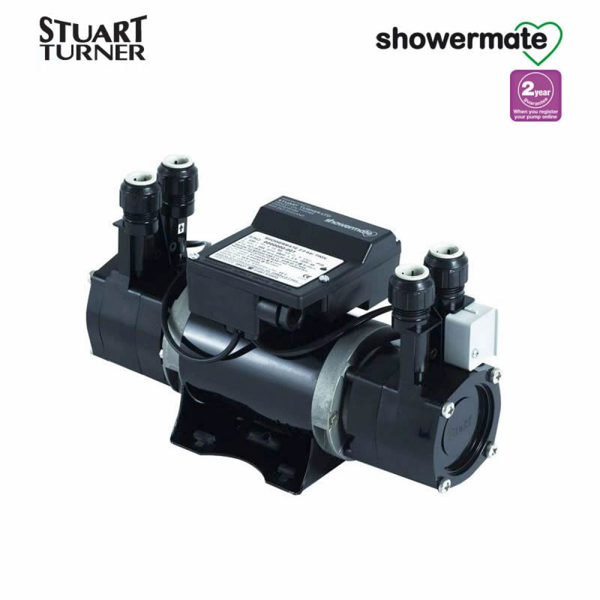 The Stuart Turner Showermate 1 8 Bar Standard Twin Boost