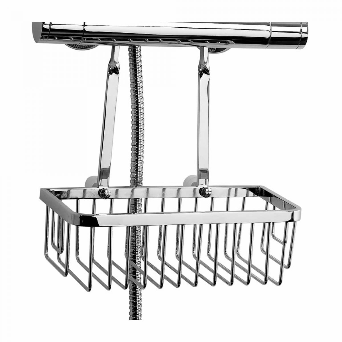 Phoenix Retro Fit Hanging Shower Basket Uk Bathrooms