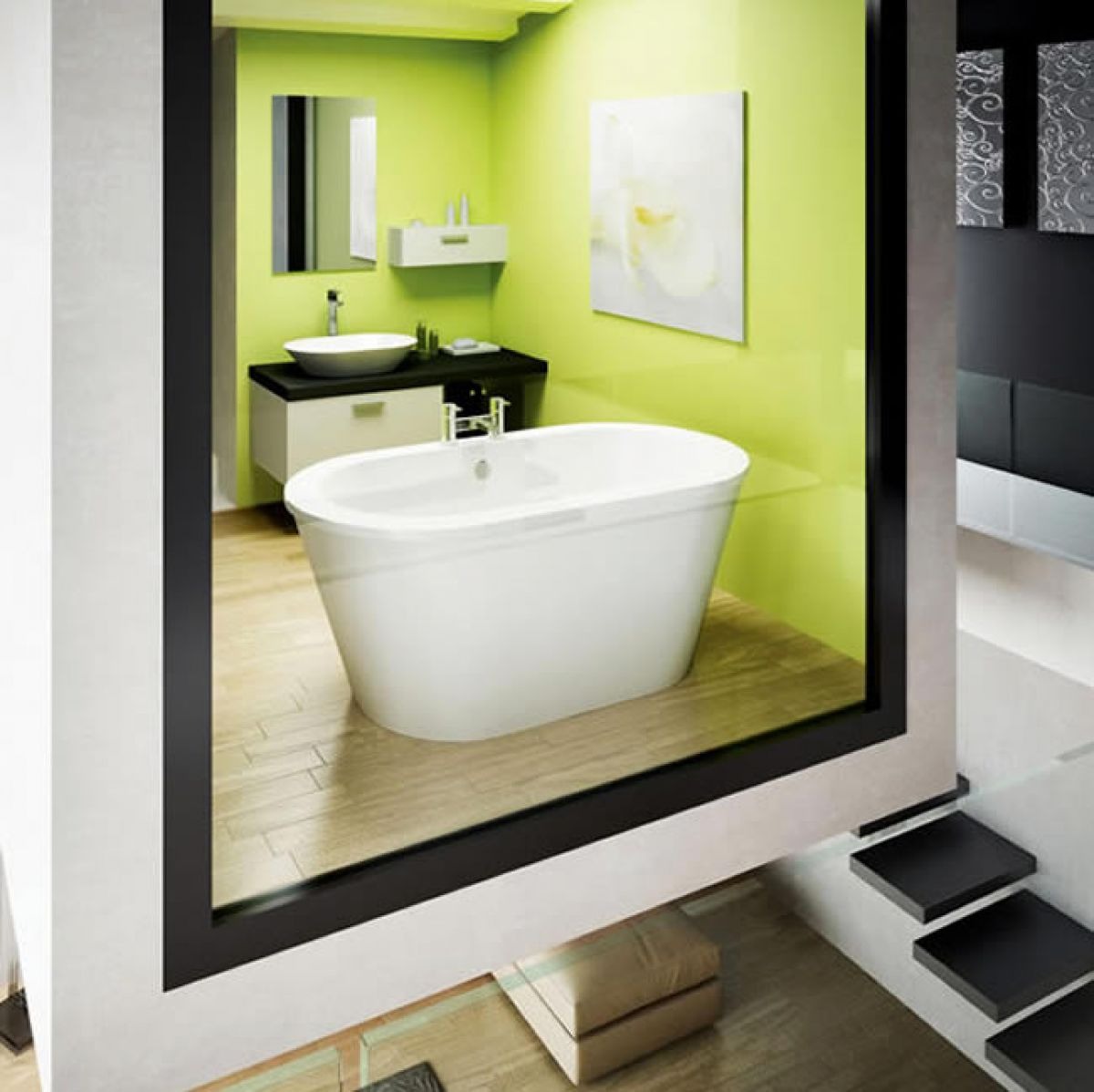 Compact Bath cleargreen nouveau petite compact freestanding bath : uk bathrooms