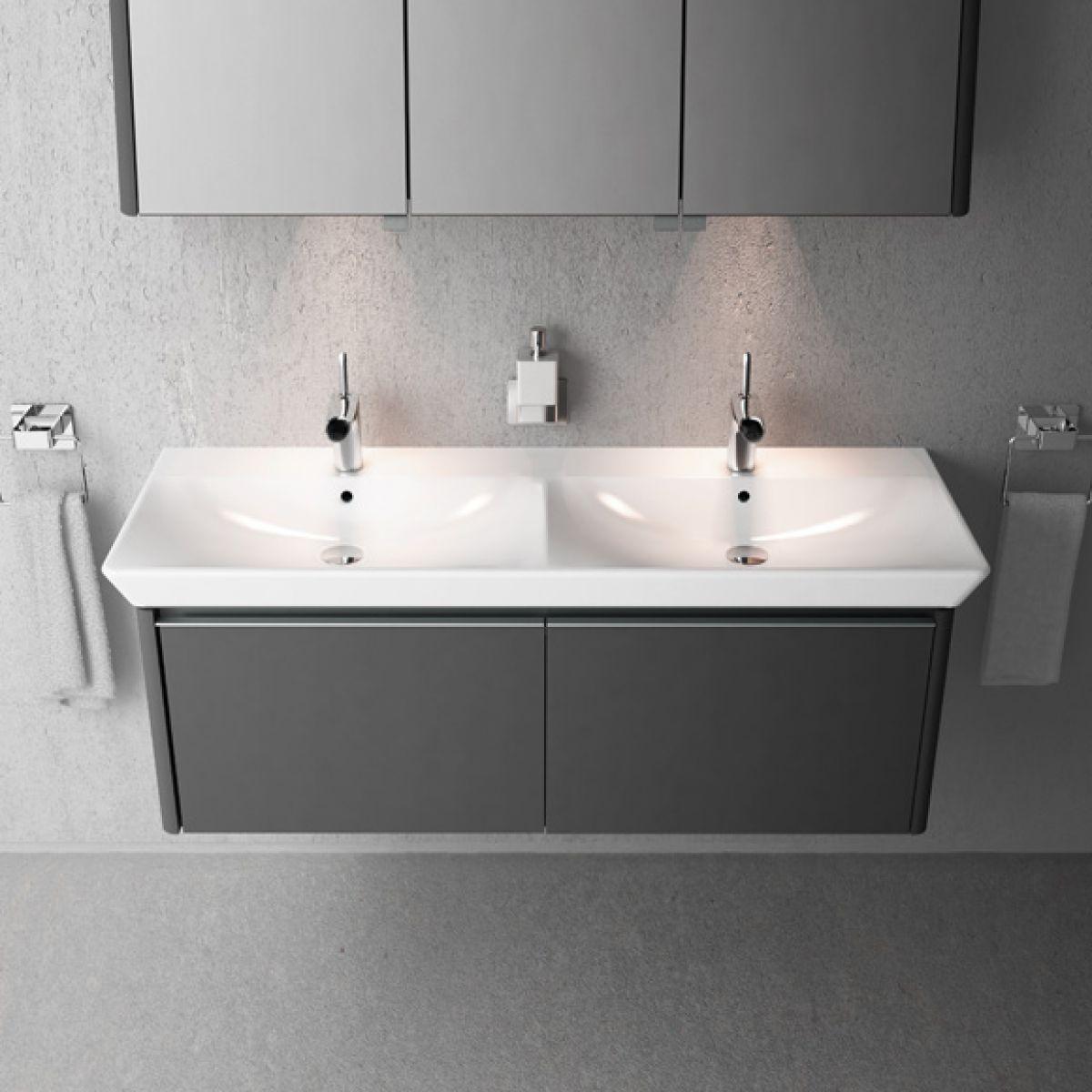 product image for vitra t4 130cm vanity unit double basin
