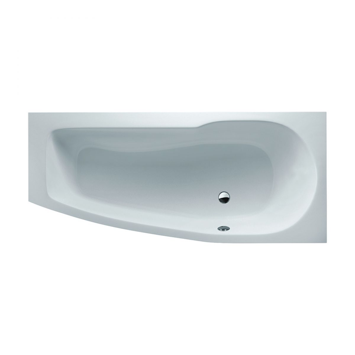 ClearGreen Ecocurve Contemporary Shower Bath : UK Bathrooms