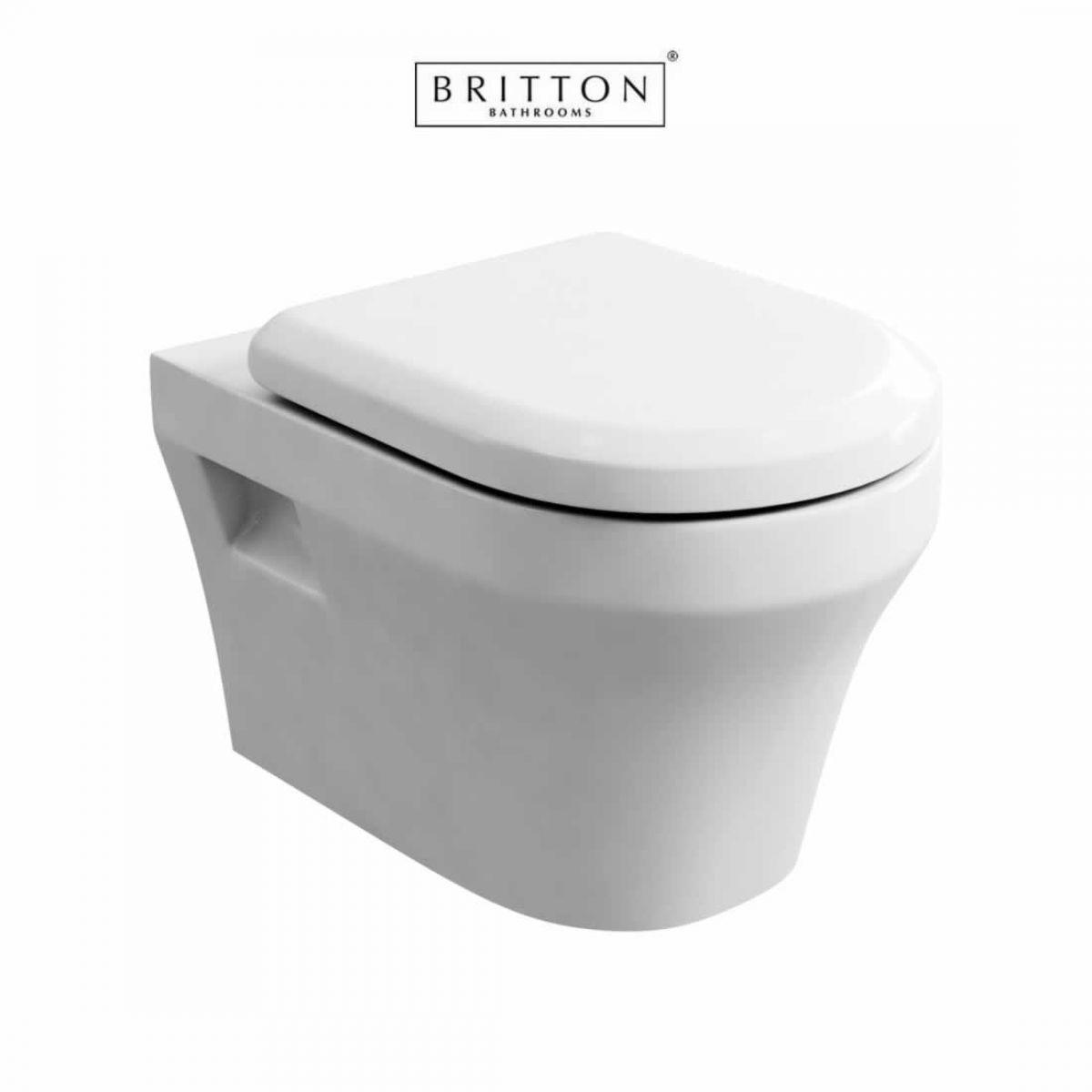 Britton Bathrooms Fine Wall Hung Toilet Uk Bathrooms