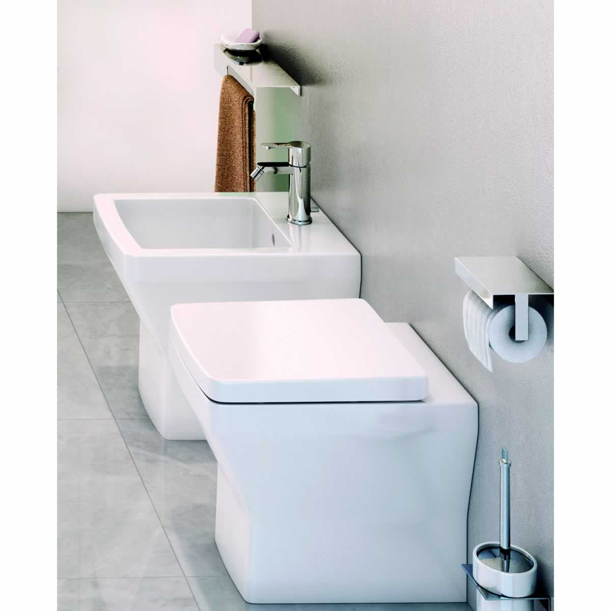 Britton Bathrooms Cube S20 Back To Wall Toilet Amp Soft