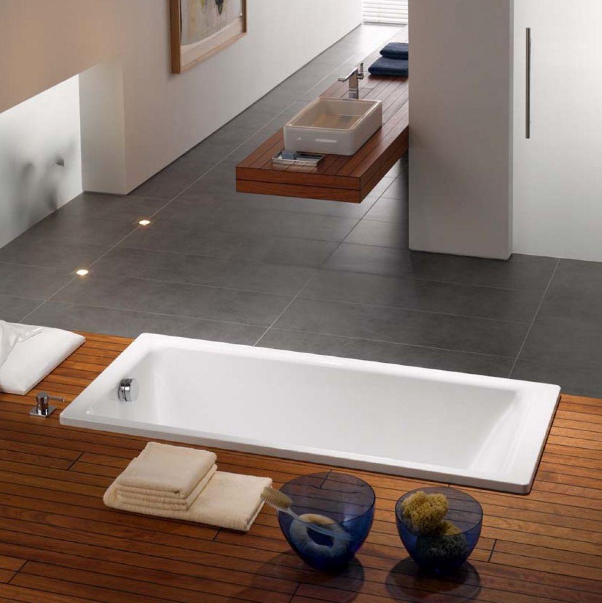kaldewei puro single ended steel bath tub uk bathrooms. Black Bedroom Furniture Sets. Home Design Ideas