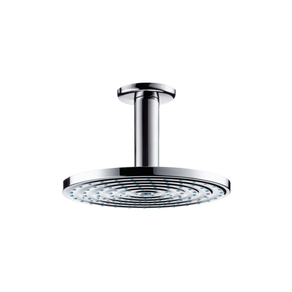 hansgrohe raindance air 180mm overhead shower with ceiling. Black Bedroom Furniture Sets. Home Design Ideas