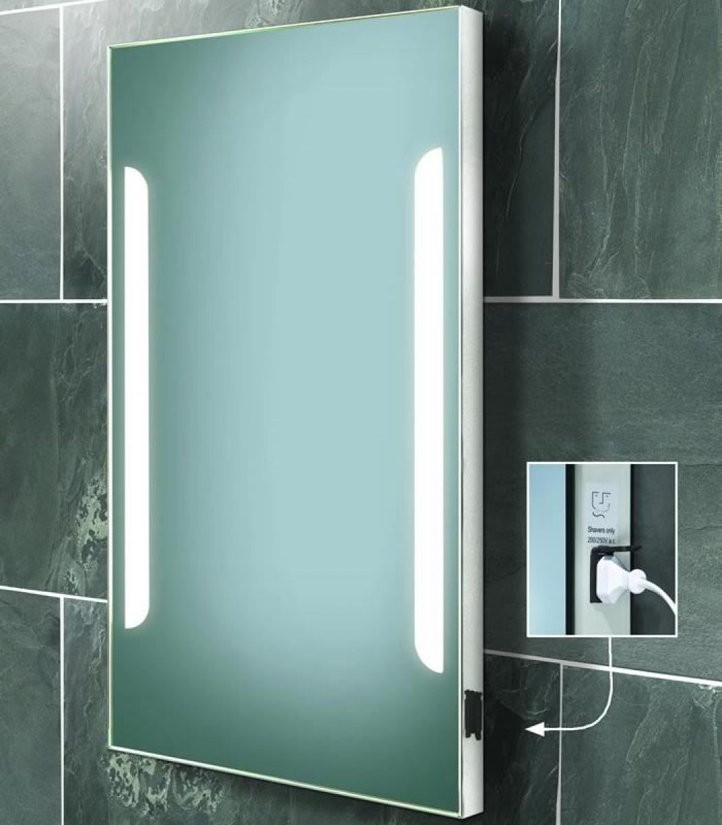 illuminated bathroom mirrors uk