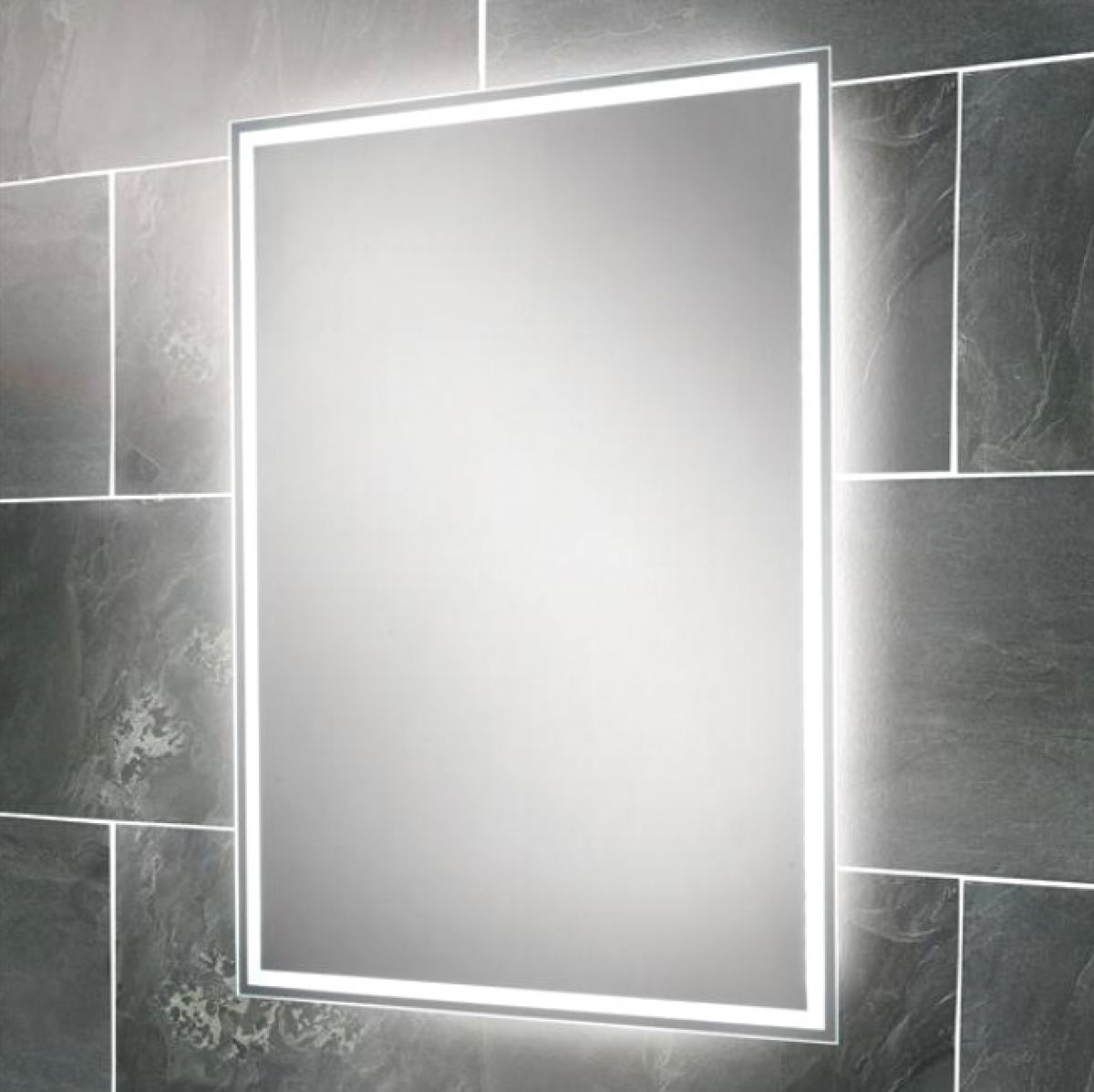 Hib ella illuminated mirror uk bathrooms for Illuminated mirrors for bathrooms