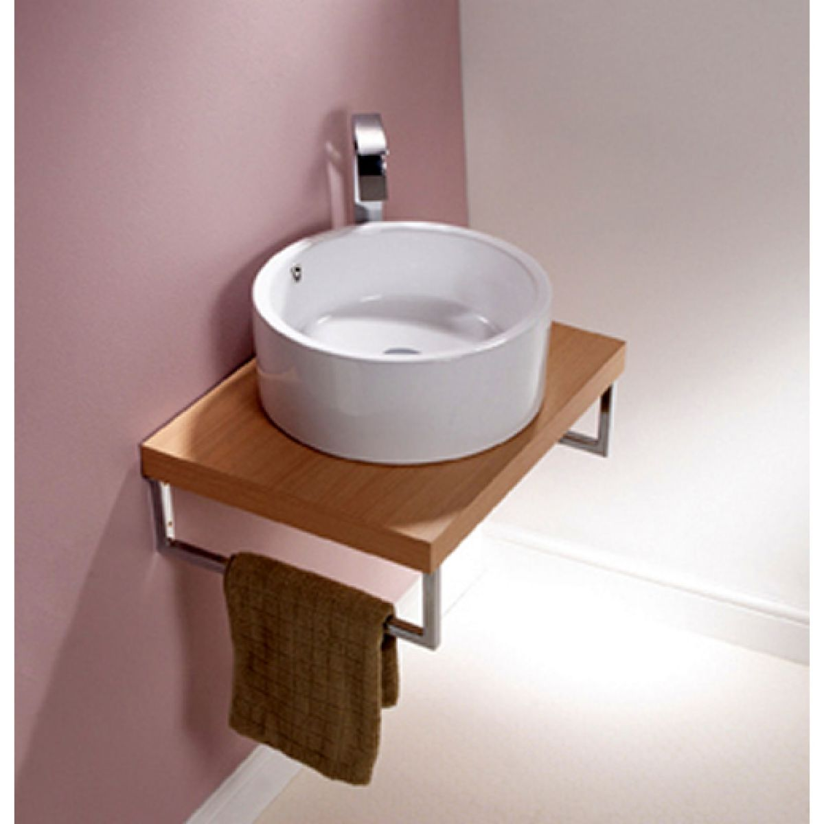 Origins Round Countertop Basin With Overflow Uk Bathrooms