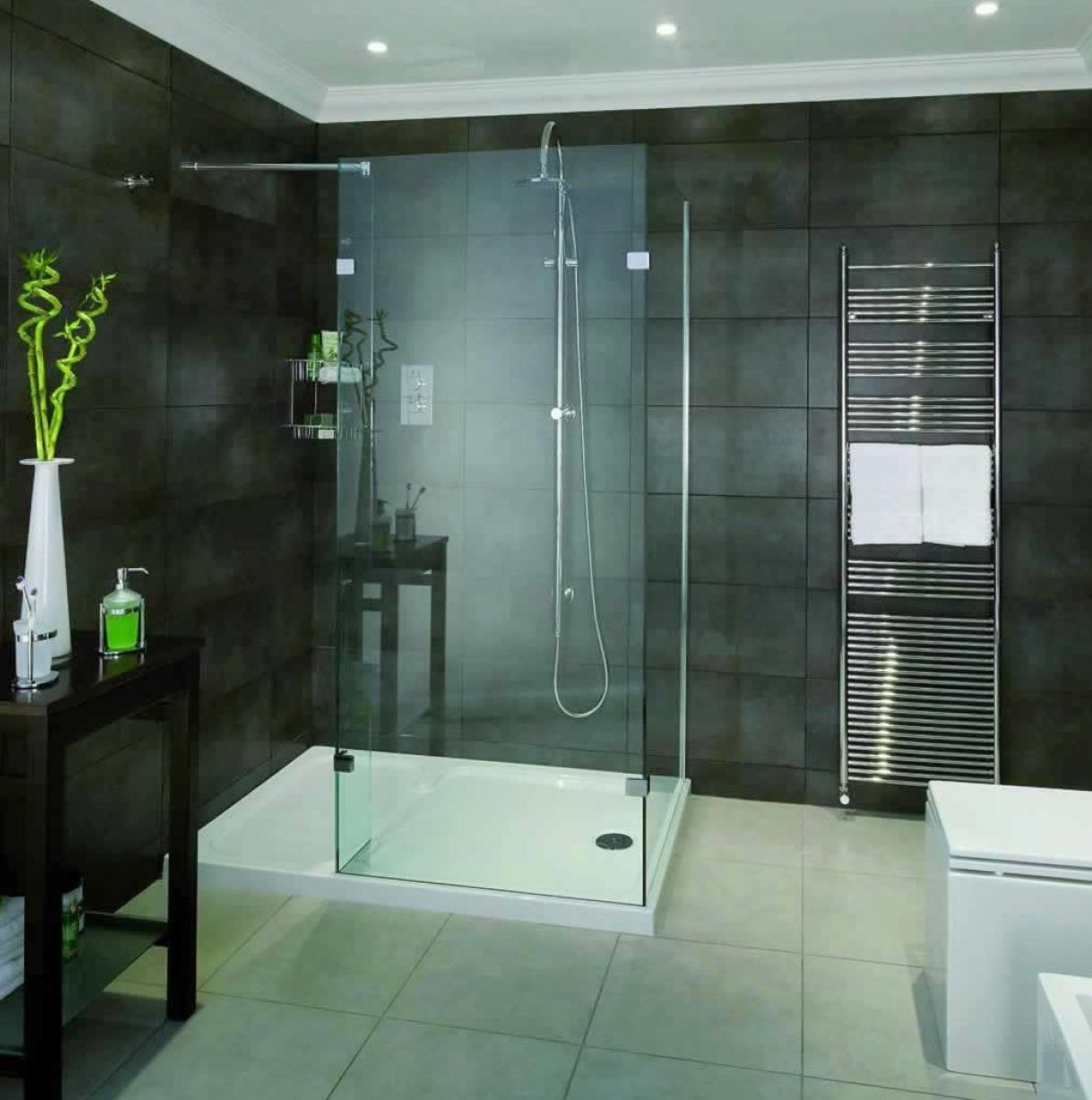 Aqata Spectra Walk In Corner Shower Enclosure Sp430 Uk Bathrooms
