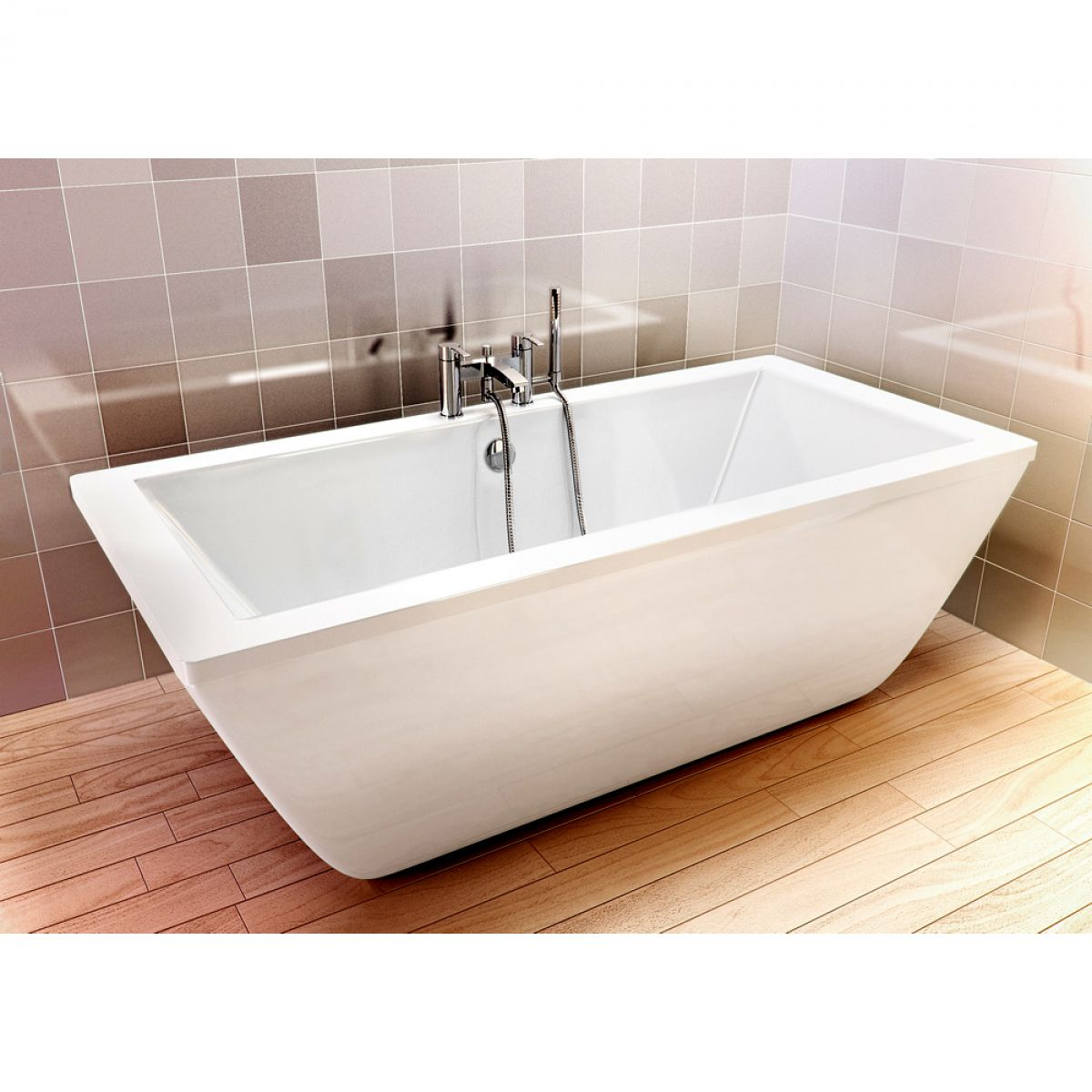 Cleargreen Freefortis Modern Freestanding Bath UK Bathrooms