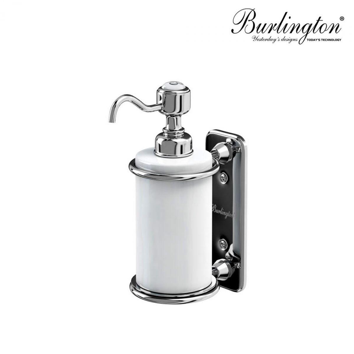 Burlington Traditional Wall Mounted Liquid Soap Dispenser
