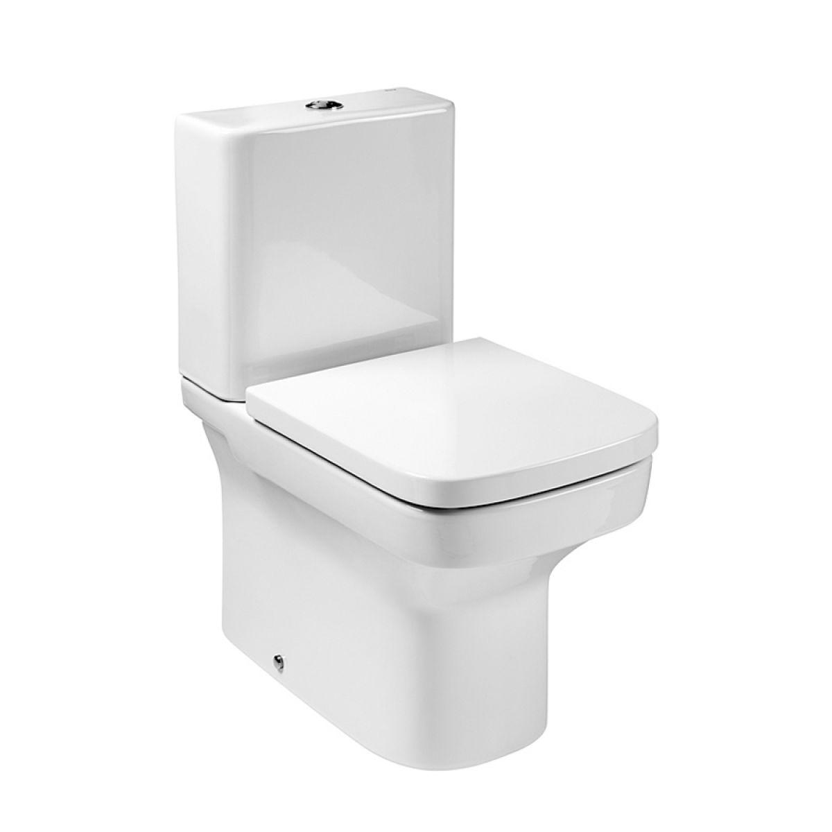 roca dama n compact close coupled toilet closed back. Black Bedroom Furniture Sets. Home Design Ideas